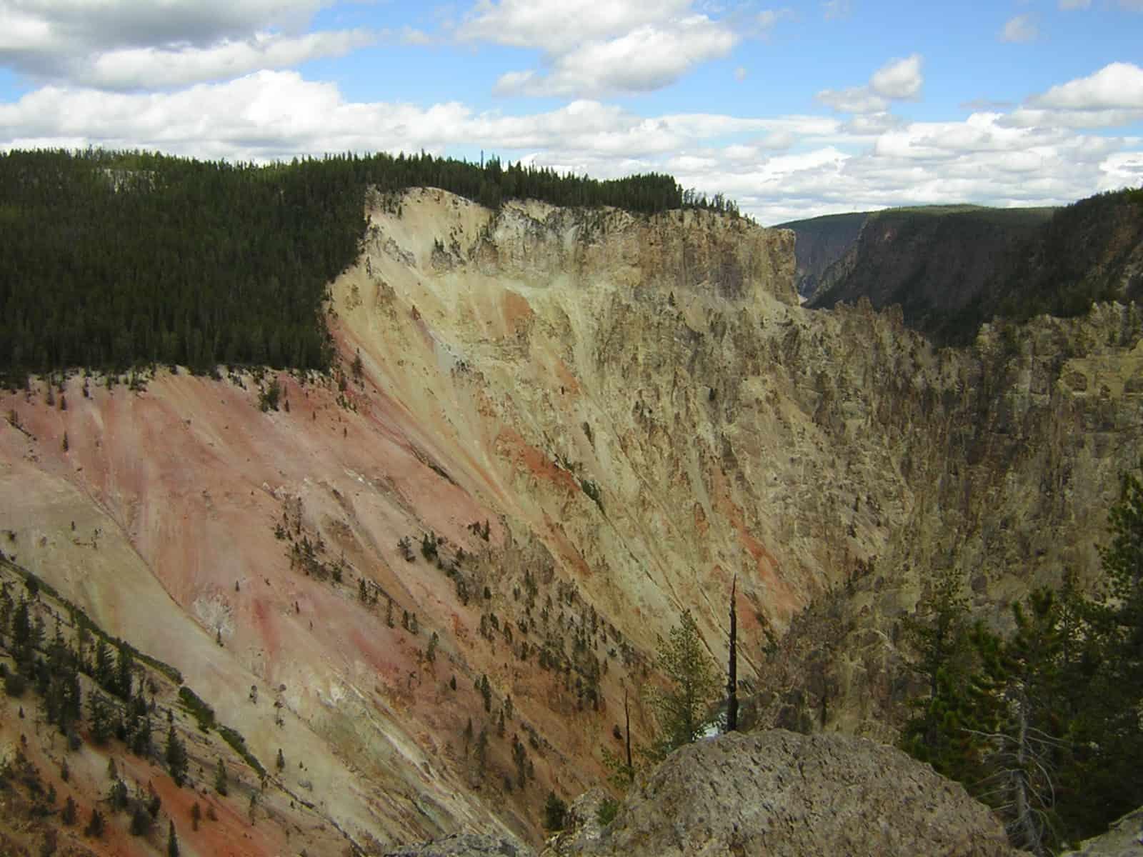 Cañón Yellowstone