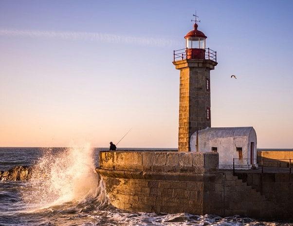 Faro Porto, Portugal