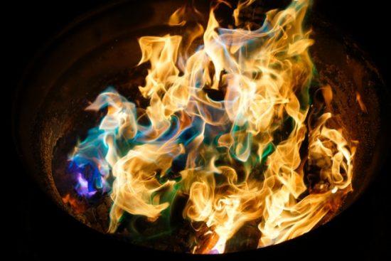 fuego de hoguera
